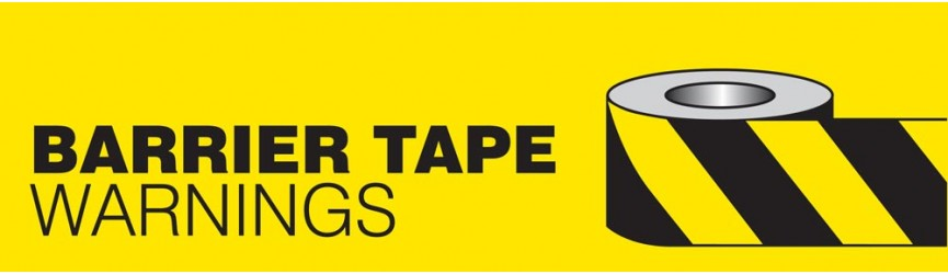 Warning Barrier Tape