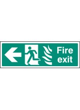 HTM Fire Exit - Arrow Left