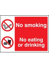 No Smoking, No Eating, No Drinking