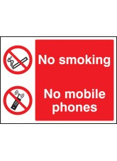 No Smoking- No Mobile Phones