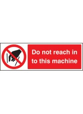 Do Not Reach in to this Machine