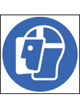 Face Shield Symbol