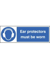Ear Protectors Must Be Worn