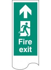Door Plate - Fire Exit Right