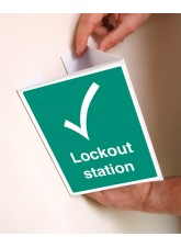 Lockout Station - Easyfix Projecting Signs