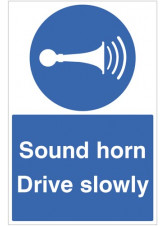 Sound Horn Drive Slowly