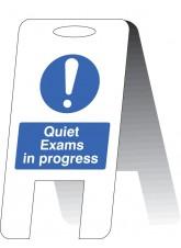 Quiet Exams in Progress (Free Standing)