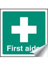 First Aider - Sticker - 50 x 50mm