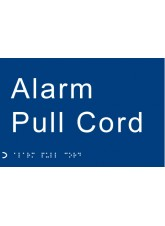 Braille - Alarm Pull Cord