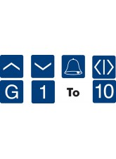 Braille - Lift Labels - 25 x 25mm (Pack 15)