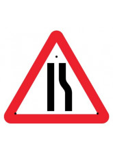 Re-Flex Sign - Road narrowing right