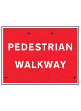 Re-Flex Sign - Pedestrian walkway