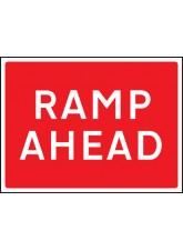 Ramp Ahead - Class RA1 - 1050 x 750mm