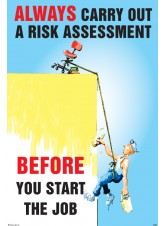 Always Carry Out a Risk Assessment Poster