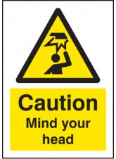 A5 Caution Mind Your Head
