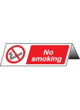 No Smoking Table Cards (Pack of 5)