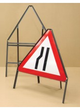 Sign Frame - 750mm Triangle with Supp Plate - 450mm Legs
