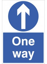 One Way - Floor Graphic