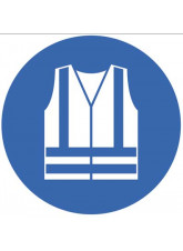 Floor Graphic - Hi-Vis Clothing symbol