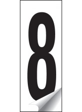 Identification Numbers 0-9 - 38 x 90mm