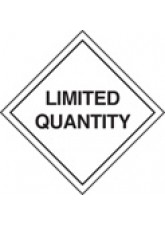 Roll of 100 Limited Quantity Labels - Roll of 100 100mm