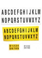 Identification Letter Sets A-Z - 45 x 130mm