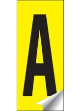 Identification Letter Sets A-Z - 38 x 90mm