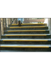 Anti-Slip Yellow Stairnosing - 55 x 55 x 1000mm